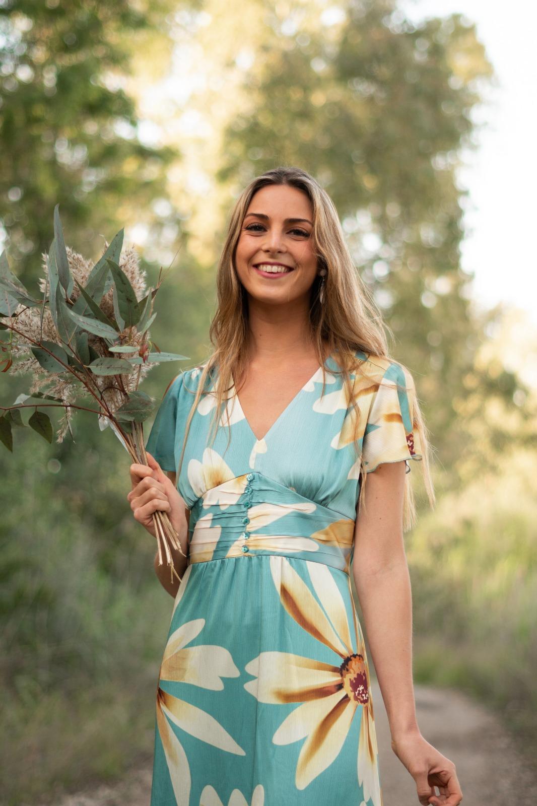 Vestido viscosa en estampado en Pasodoble en Palencia