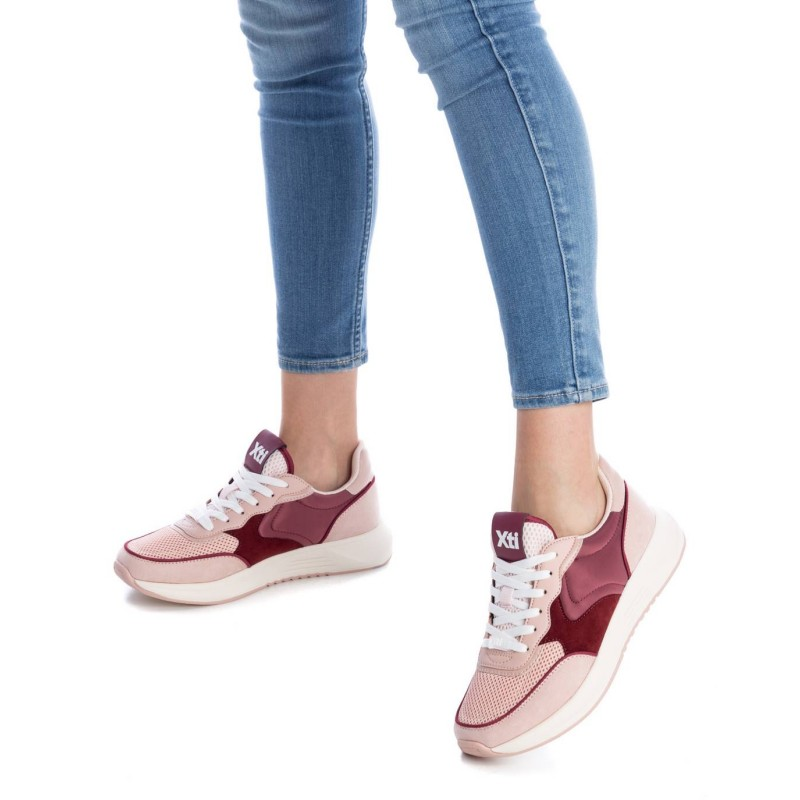 Sneaker textil rosas de Pasodoble en Palencia
