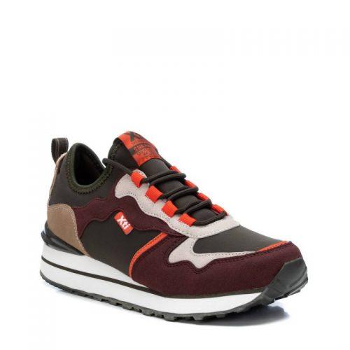 Sneaker en marrón y naranja de Pasodoble en Palencia