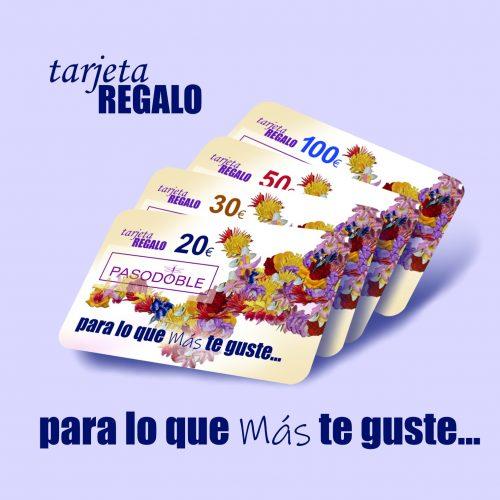tarjeta Regalo Pasodoble Palencia