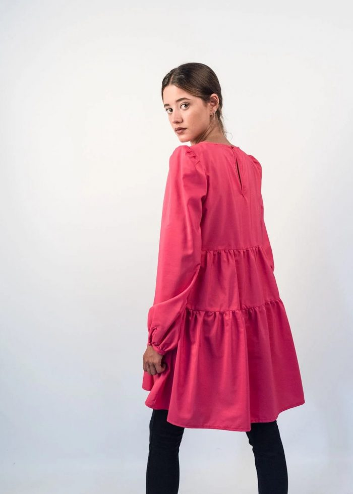 vestido mini color rosa pasodoblemoa en Palencia