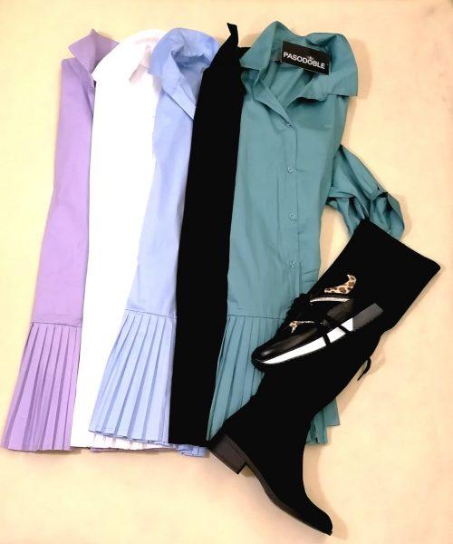 Camisa larga con falda plisada Pasodoble Palencia