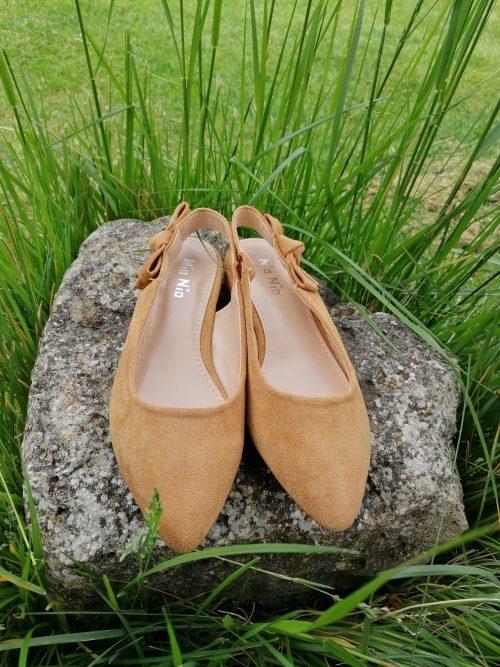 Zapato mule de antelina de Pasodoble en Palencia