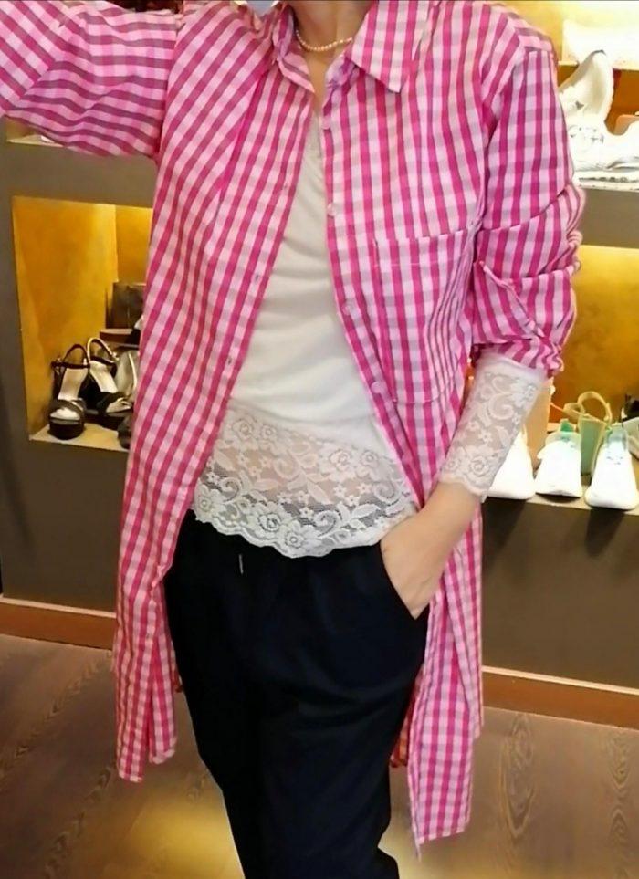 Vestido camisero cuadros vichi en Pasodoble Palencia