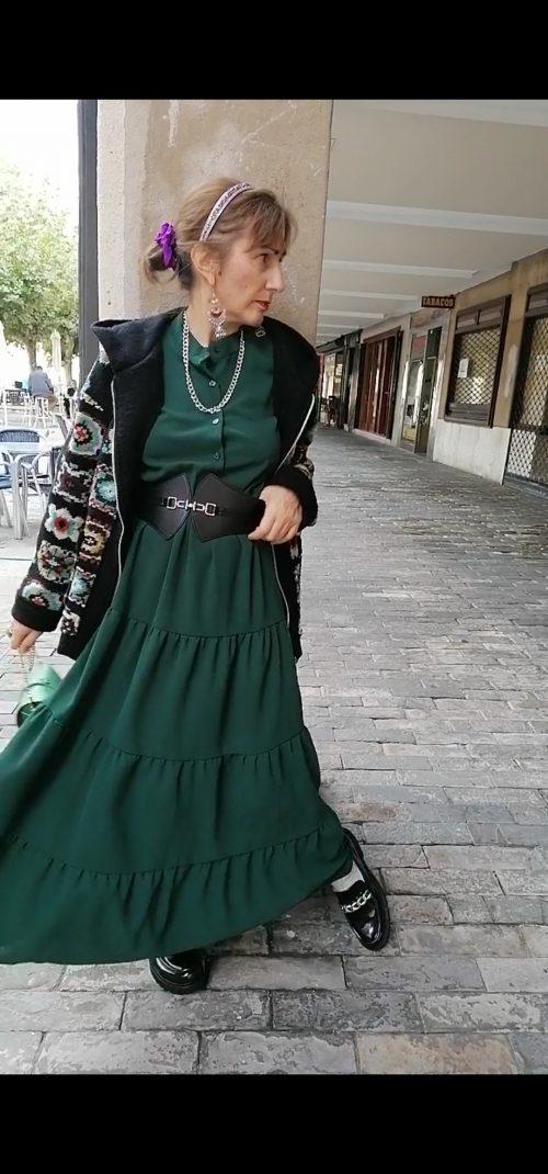 Vestido largo de Pasodoble en Palencia