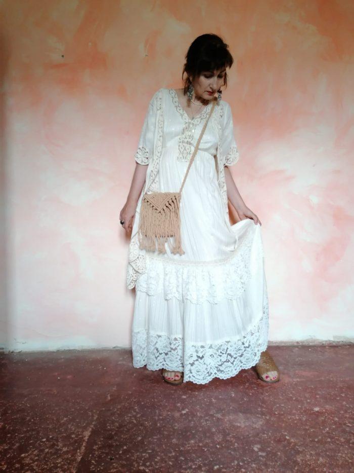 Vestido ibicenco de Pasodoble en Palencia