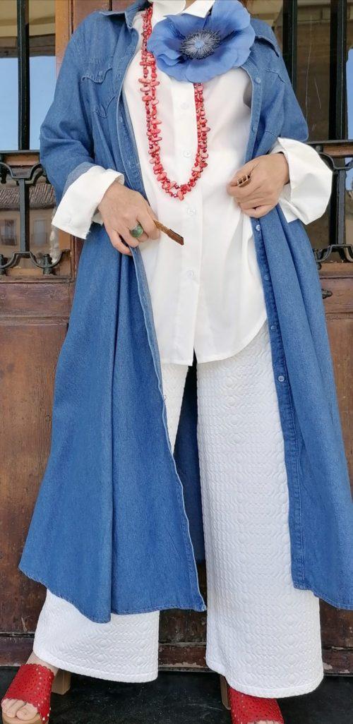 Vestido vaquero en Pasodoble de Palencia