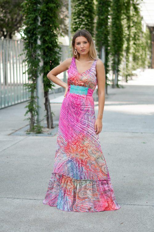 vestido largo romántico de Pasodoble en Palencia